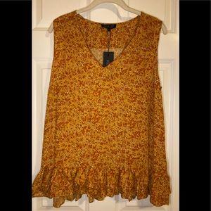 NWT Rachel Zoe sleeveless tank blouse.